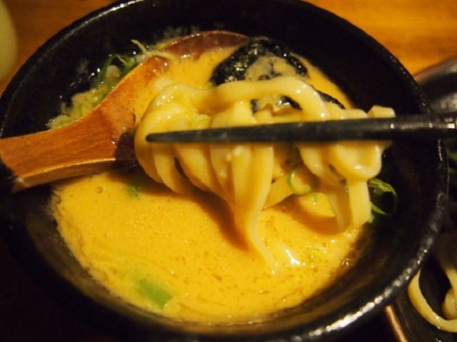 Sea urchin ramen – Not for the faint of heart!