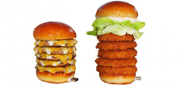 Lotteria offers burger towers of USB power