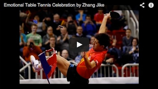 Chinese table tennis champ stripped of $45k prize after emotional outburst【Video】