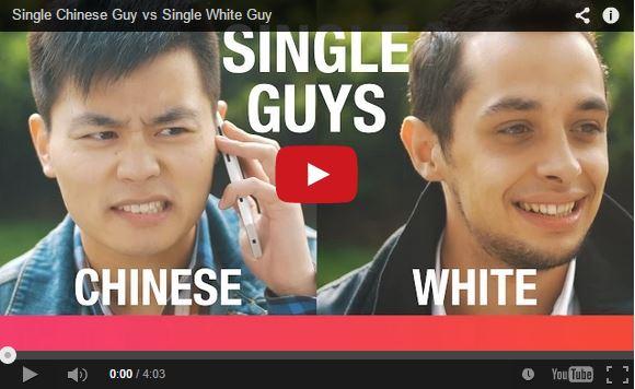 """""""Single Chinese Guy vs Single White Guy"""" video """"celebrates"""" Singles' Day in China"""