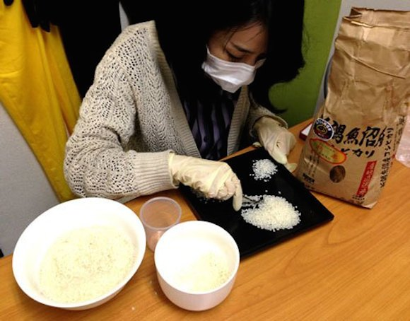 We examine, sort thousands of grains of rice to test manga-approved cooking method 【Video】