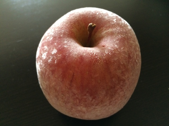 Who knew frozen apples could taste so good!: Simple dessert recipe for the diet-conscious
