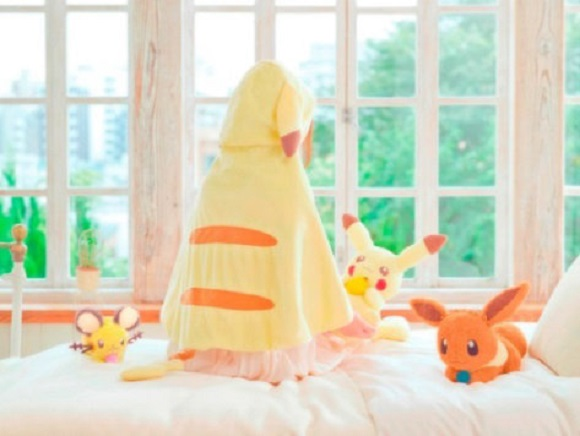 Win an adorable Pikachu hooded blanket and more in upcoming Pokémon lottery campaign