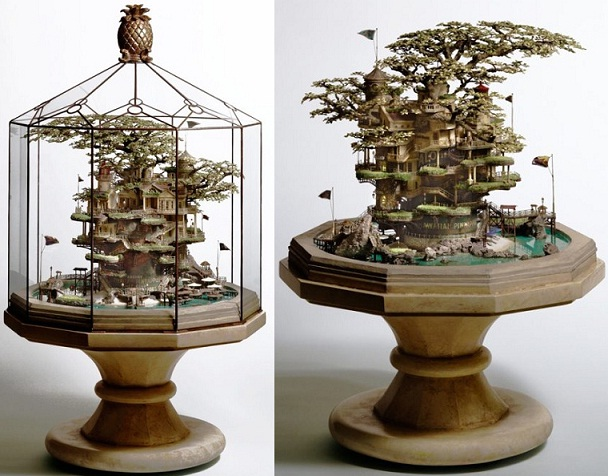 Bonsai treehouses look like something out of Howl's Moving Castle 【Photos】