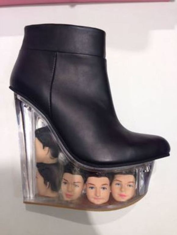 Barbie head shoes16