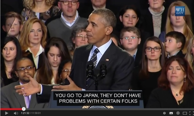 Barack Obama inadvertently galvanizes anti-immigration sentiments in Japan
