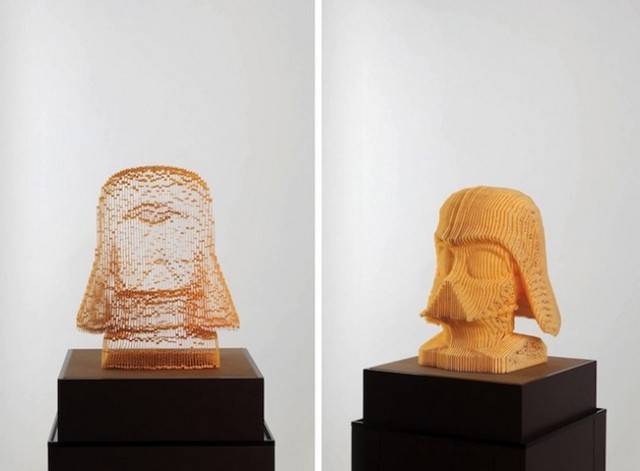 "Now you see it, now you don't! Korean artist creates amazing ""empty"" sculptures out of paper"