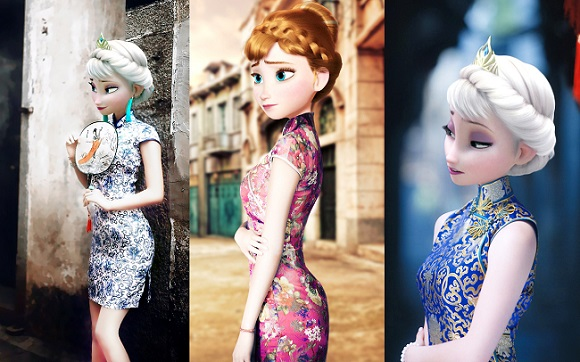 What if Frozen had been set in China…