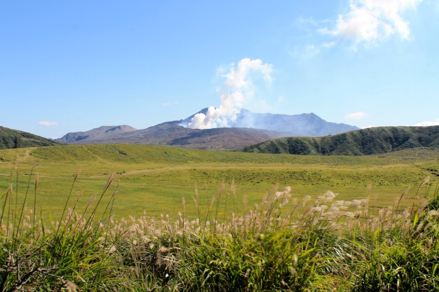 Mount Aso: I heard you like volcanoes, so I put some volcanoes in your volcano【Photos】