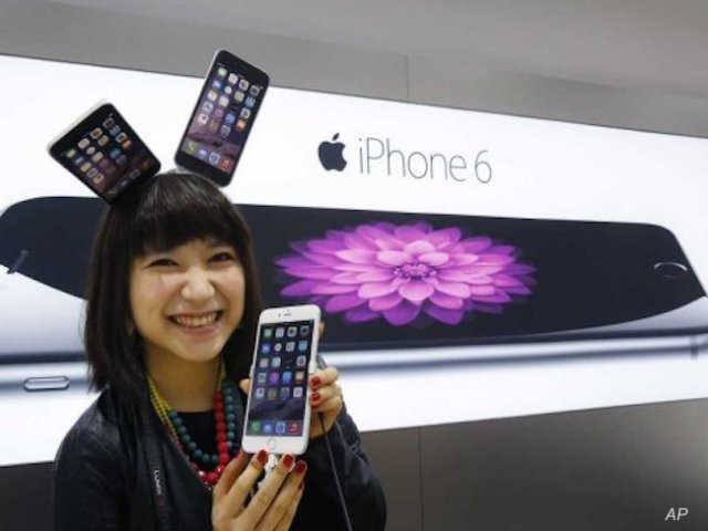 The giant iPhone 6 Plus is most popular in Asia