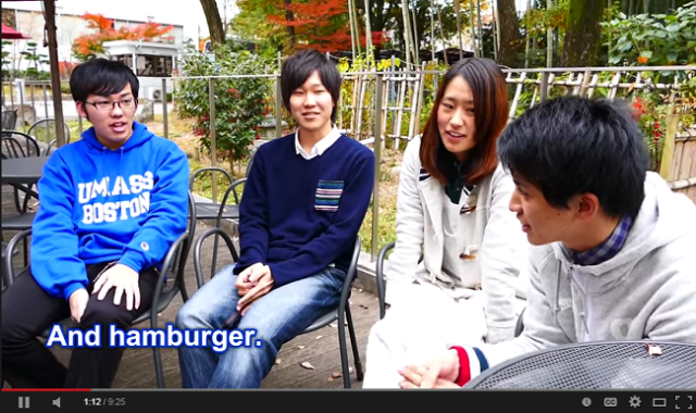 An ocean apart, what do Japanese college students think about the US?【Video】