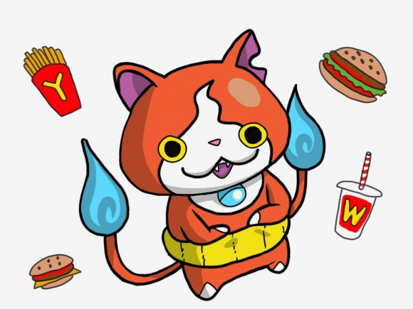 Youkai Watch chosen for McDonald's calendar, Pokémon fans sob into their fries