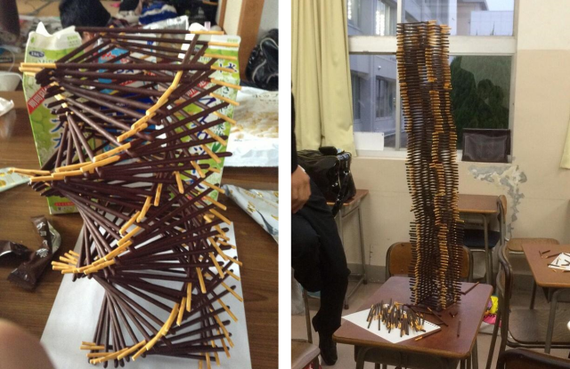 Happy Pocky Day! Japan celebrates with huge towers and crazy art featuring the beloved snack