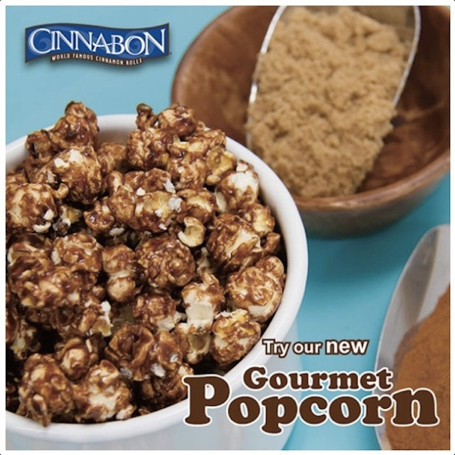 We try new gourmet popcorn from Cinnabon — Yes, it's as addictive as their cinnamon rolls!