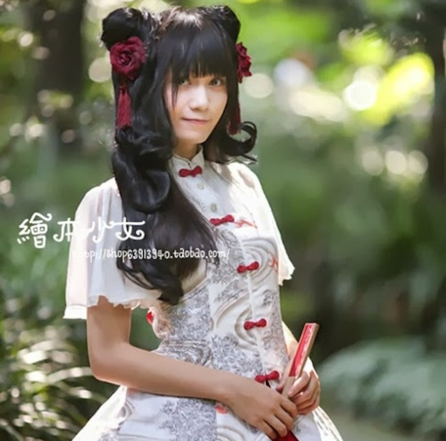 Real China dolls! Lolita fashion turns Chinese in a fusion of East meets East【Photos】