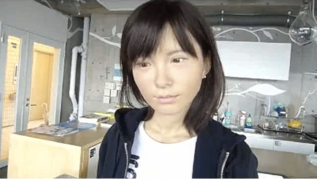 Real life android looks almost too real