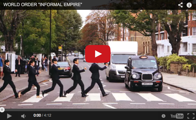 Japanese band robot-dances their way around London in latest music video
