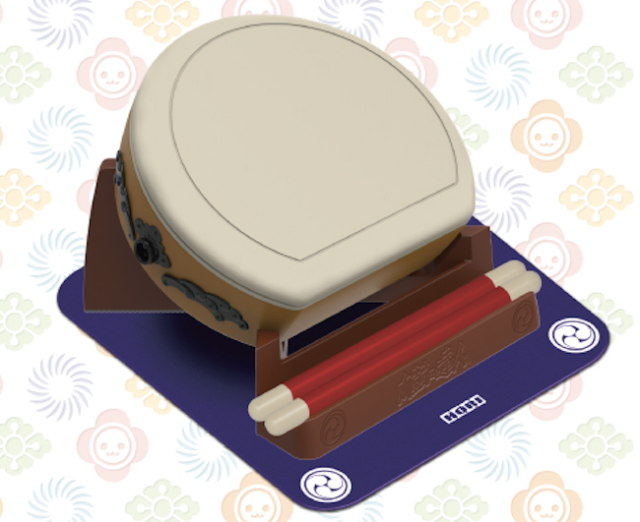 Make (lots and lots of) room for this enormous new Taiko no Tatsujin controller from Hori
