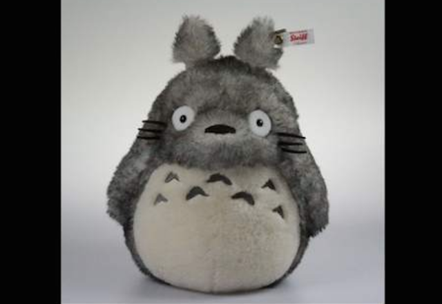 This new Totoro plush is super pricey, rarer than an encounter with the big guy himself