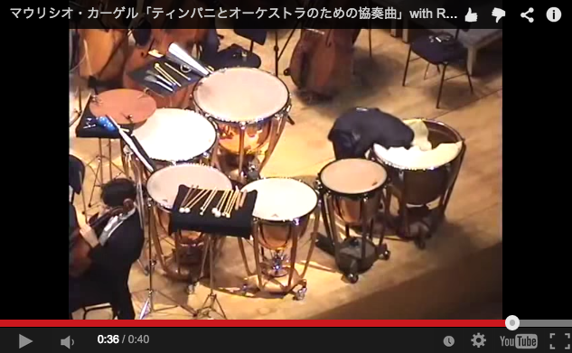 Timpani drummer's crazy finale is startling, funny, more metal than you'd expect from a symphony