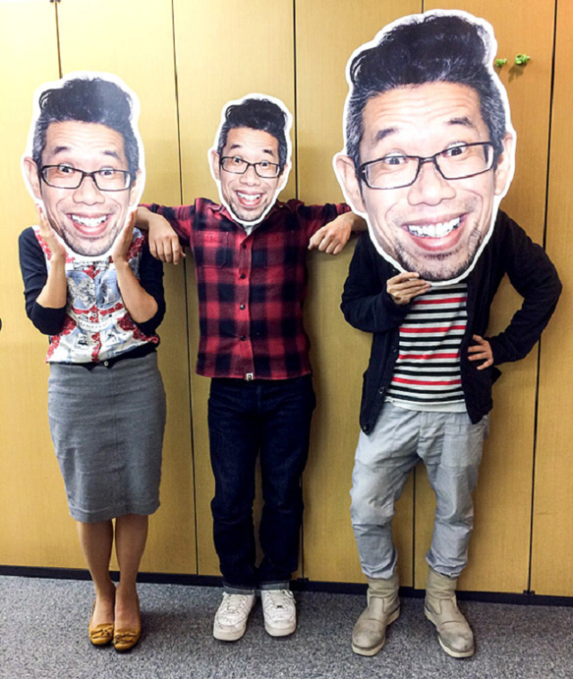 Mr. Sato is now a sticker, and we're giving him away to six lucky readers!
