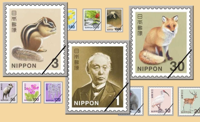 Japan Post to give stamps cute animal makeovers including chipmunks, foxes, and an old man
