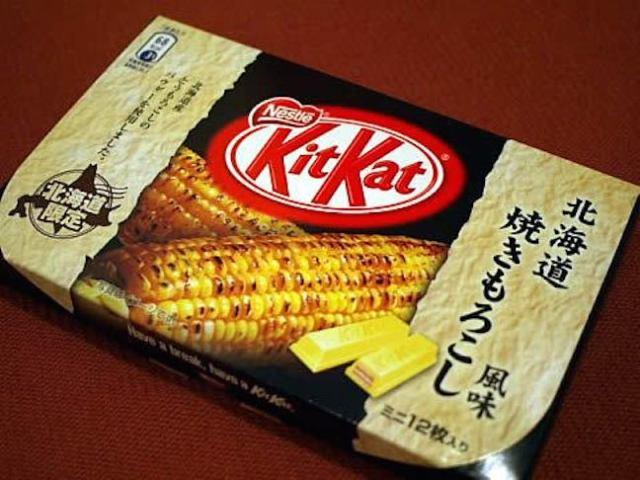 【TBT】Chocolate-covered squid, corn Kit Kat, and other anomalies of the Japanese snack food scene