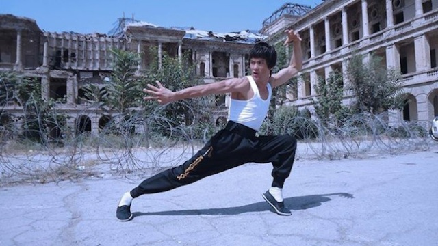 "Enter the double! This is ""Afghan Bruce Lee"", and he's a high-kicking sensation【Pictures】"