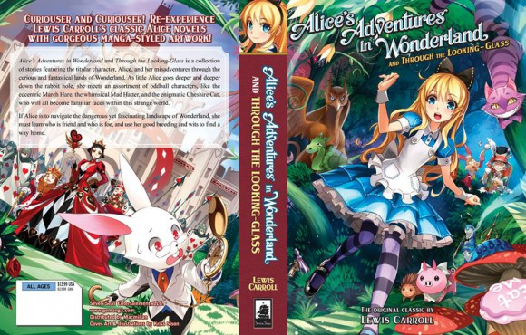 Alice in Moeland! Japanese netizens react to art style of new US book cover