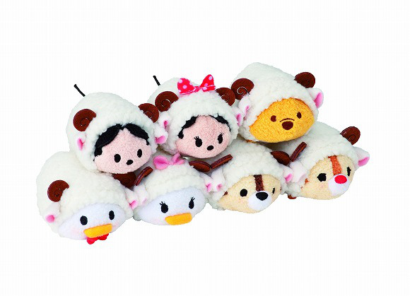 Disney welcomes 2015 with special edition sheep Tsum Tsum soft toys!