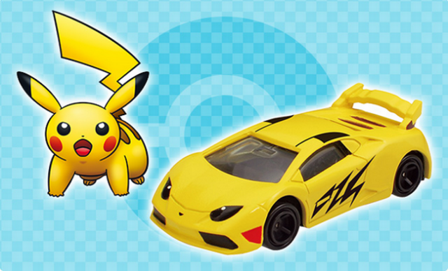 Pokémon Dream Tomica arrives just in time for Christmas