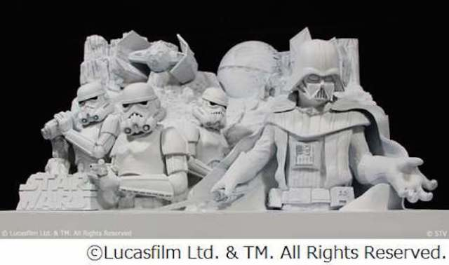 Darth Vader to be featured in large-scale Star Wars snow sculpture at 2015 Sapporo Snow Festival