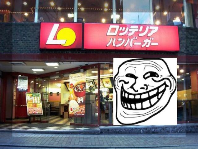 Burger chain Lotteria trolls McDonald's Japan's potato shortage with pithy sign