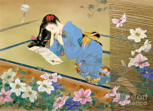 Former kimono painter turned ukiyo-e artist dazzles with exquisite modern-day paintings