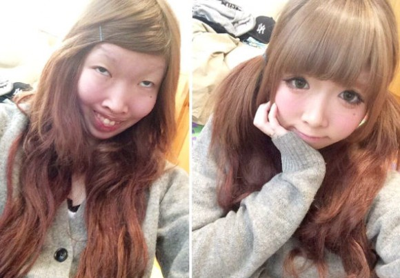 Ugly-cute makeup genius feeds off negative troll comments on Twitter
