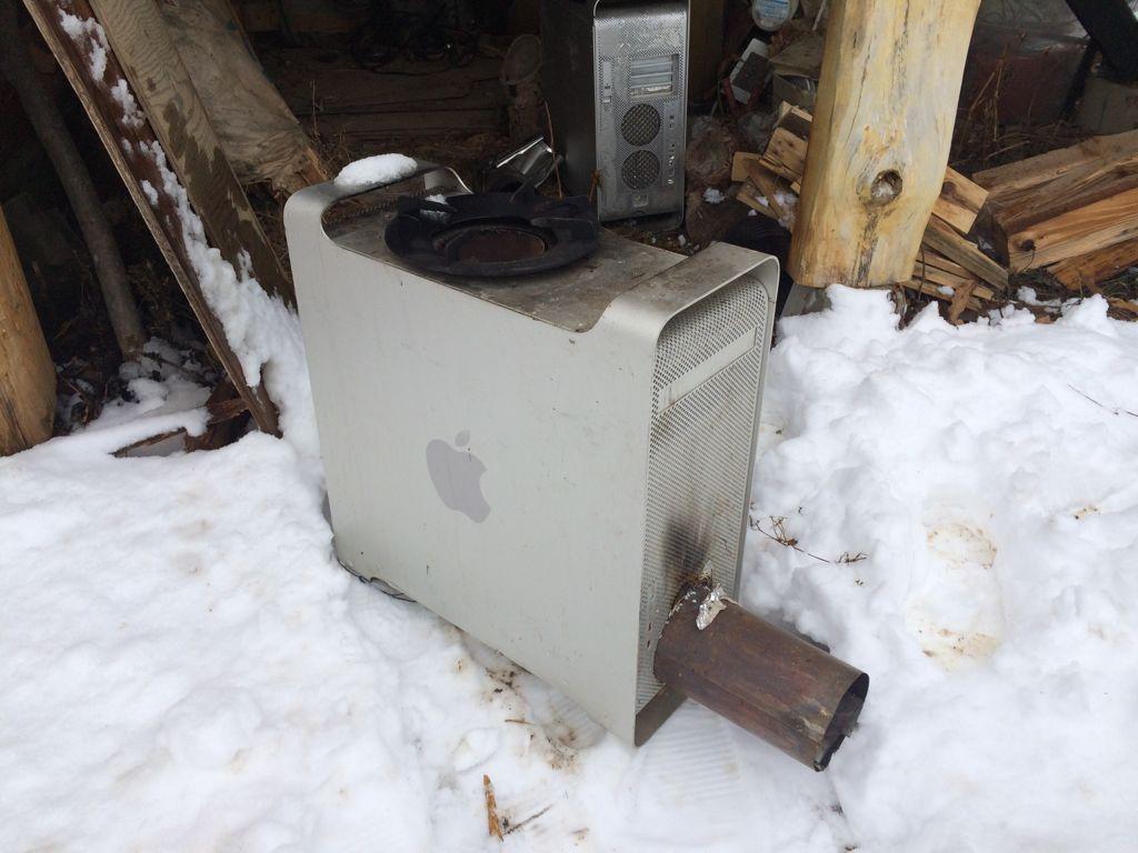 apple stove