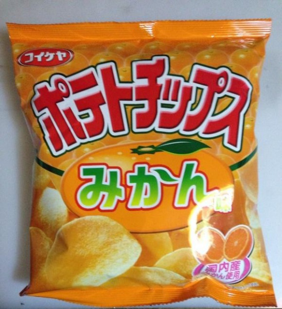 Mikan flavored potato chips sound gross, but may actually be genius marketing
