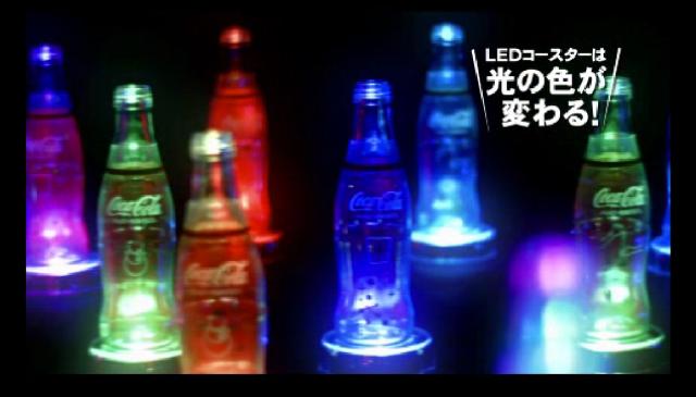 Happy 40th birthday, Aeon! Coca-Cola celebrates with limited edition LED coaster sets