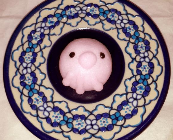 Namikoshiken Suizokukan aquarium manju bun, octopus