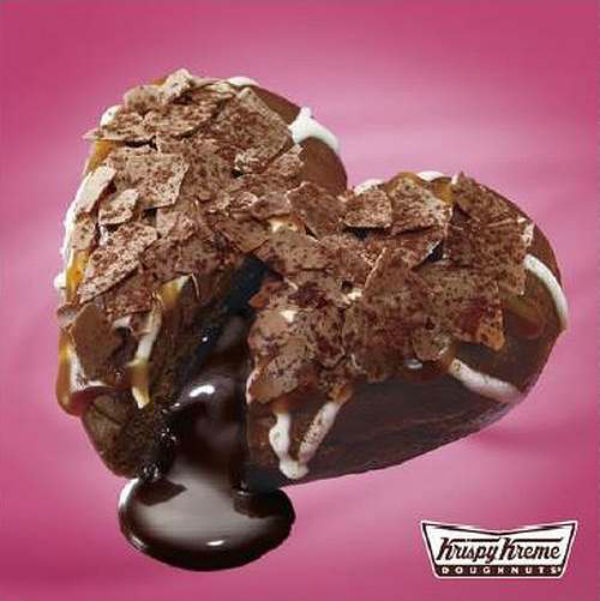 Melt your lover's heart with these limited edition Valentine's Day Krispy Kreme donuts