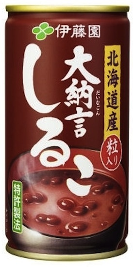 drinks oshiruko  Itoen