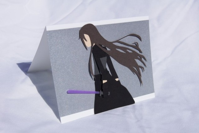 Christmas cards are too mainstream, get your hands on these awesome anime-inspired cards!