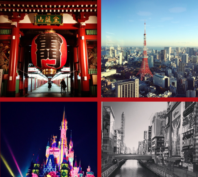 The top 10 Instagram photo locations for Japan in 2014 【Photos】