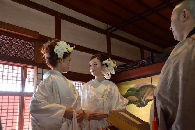 Historic Kyoto temple first in Japan to offer gay weddings