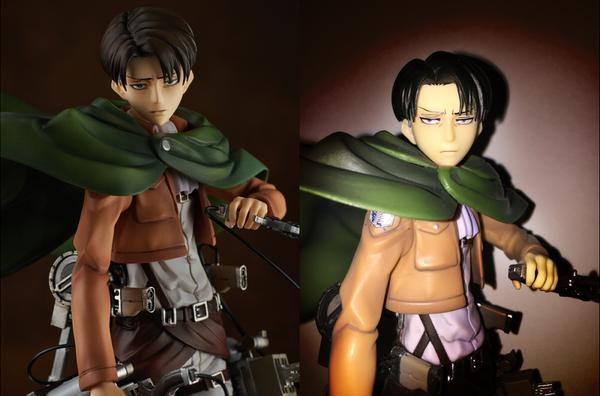 Just a dud batch? Original artist shocked by shoddy final version of Attack on Titan figure