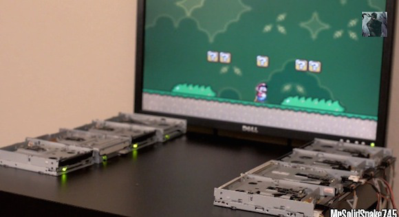 Floppy drive orchestra performs old-school game music, gives us nostalgia overload 【Video】