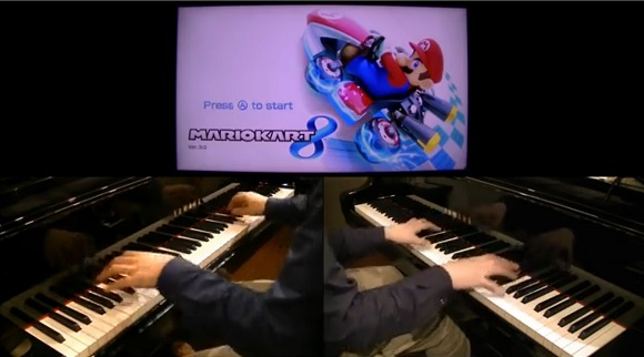 Japanese pianist stuns us with faithful representation of Mario Kart music and sound effects