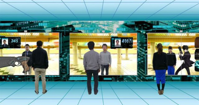 Check your Psycho-Pass levels at Shinjuku Station, but be careful, you might geteliminated!