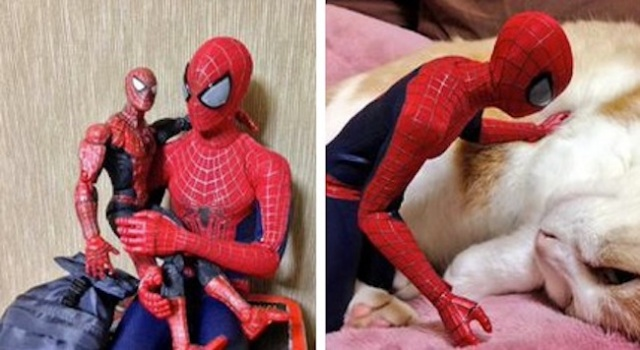 All we want for Christmas is a 1/6 model Spider-Man to take photos with