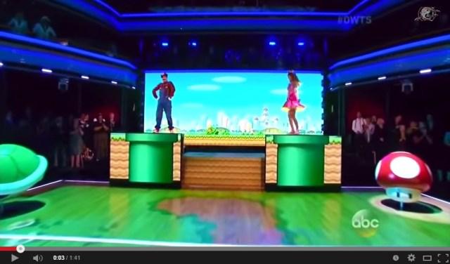 Popular TV show's awe-inspiring Mario dance number is geektastically cool